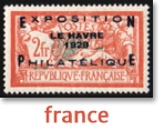 view france stamps